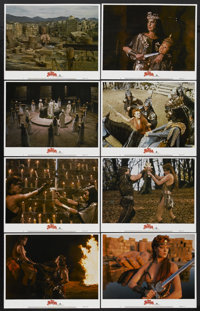 "Red Sonja (MGM, 1985). Lobby Card Set of 8 (11"" X 14""). Action.... (Total: 8 Items)"