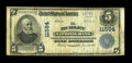 National Bank Notes:Wisconsin, Hurley, WI - $5 1902 Plain Back Fr. 607 The Hurley NB Ch. # 11594. ...
