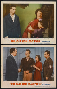 """The Last Time I Saw Paris (MGM, 1954). Lobby Cards (2) (11"""" X 14""""). Romance.... (Total: 2 Items)"""
