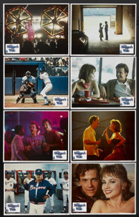 "The Slugger's Wife (Columbia, 1985). Lobby Card Set of 8 (11"" X 14""). Sports"