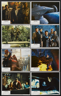 "Star Trek III: The Search for Spock (Paramount, 1984). Lobby Card Set of 8 (11"" X 14""). Science Fiction.... (T..."