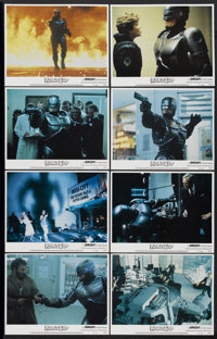 "RoboCop (Orion, 1987). Lobby Card Set of 8 (11"" X 14""). Action.... (Total: 8 Items)"