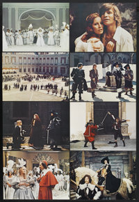 """The Three Musketeers (20th Century Fox, 1974). Lobby Card Set of 8 (11"""" X 14""""). Adventure.... (Total: 8 Item)"""