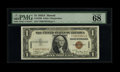 Small Size:World War II Emergency Notes, Fr. 2300 $1 1935A Hawaii Silver Certificate. PMG Superb GemUncirculated 68 EPQ.. ...