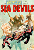 "Original Comic Art:Covers, Russ Heath Showcase #27 ""Sea Devils"" Cover Re-CreationOriginal Art (2009)...."