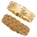 Estate Jewelry:Bracelets, Gold Bracelets. ... (Total: 2 Items)