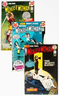 Bronze Age (1970-1979):Superhero, Wonder Woman Group of 8 (DC, 1972-77) Condition: Average VF....(Total: 8 Comic Books)
