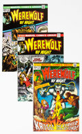Bronze Age (1970-1979):Horror, Werewolf by Night Group of 11 (Marvel, 1973-76) Condition: AverageVF/NM.... (Total: 11 Comic Books)