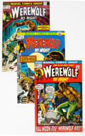 Bronze Age (1970-1979):Horror, Werewolf by Night Group of 14 (Marvel, 1972-77) Condition: AverageVF-.... (Total: 14 Comic Books)