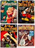 Pulps:Detective, Assorted Detective Pulps Box Lot (Various, 1926-50) Condition: Average VG-....