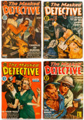 Pulps:Detective, The Masked Detective Group of 10 (Better Publications, 1940-43)Condition: Average VG.... (Total: 10 Comic Books)