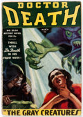Pulps:Horror, Doctor Death - March 1935 (Dell) Condition: FN-....