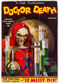 Pulps:Horror, Doctor Death - February 1935 (Dell) Condition: VG/FN....
