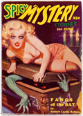 Pulps:Horror, Spicy Mystery Stories - June 1935 (Culture) Condition: FN-....