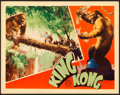 "Movie Posters:Horror, King Kong (RKO, 1933). Very Fine+. Lobby Card (11"" X 14"").. ..."