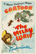 Movie Posters:Animation, Tom and Jerry in The Milky Waif (MGM, 1946). Fine/Very Fin...