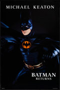 """Movie Posters:Action, Batman Returns (Warner Bros., 1992). Rolled, Very Fine. One Sheet (27"""" X 40""""). SS Advance, 3 Styles. John Alvin Artwork. Act... (Total: 3 Items)"""