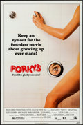 """Movie Posters:Comedy, Porky's & Other Lot (20th Century Fox, 1982). Folded, VeryFine-. One Sheets (3) (27"""" X 41""""). Comedy.. ... (Total: ..."""