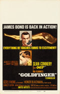 Movie Posters:James Bond, Goldfinger (United Artists, 1964). Folded, Fine/Very Fine....
