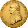 Miscellaneous:Ephemera, Massive Benjamin Rumford Gold Prize Medal Awarded to George Russell Harrison.. ...