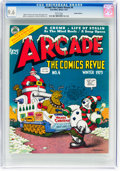 Bronze Age (1970-1979):Alternative/Underground, Arcade the Comics Revue #4 Haight-Ashbury Pedigree (Print Mint, 1975) CGC NM+ 9.6 White pages....