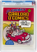 Bronze Age (1970-1979):Alternative/Underground, R. Crumb's Carload O' Comics #nn Double Cover (Belier Press, 1976) CGC FN/VF 7.0 Off-white to white pages....