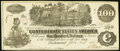 Confederate Notes:1862 Issues, T39 $100 1862 Choice About Uncirculated.. ...