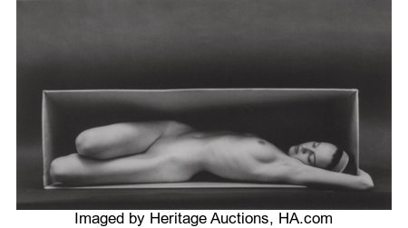 Ruth Bernhard (American, 1905-2006) The Eternal Body (Complete portfolio with ten photographs), 1934-1976 Platinum-Pal...