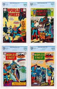 World's Finest Comics Group of 4 (DC, 1967-68).... (Total: 4 )