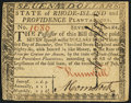 Colonial Notes:Rhode Island, Fully Signed Rhode Island July 2, 1780 $7 Extremely Fine-AboutNew.. ...