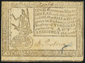 Colonial Notes:Virginia, Virginia October 7, 1776 $1 Very Fine.. ...