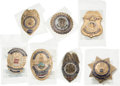 Political:Small Miscellaneous (1896-present), Ronald Reagan et al: Assorted Metropolitan Police Inauguration Badges....