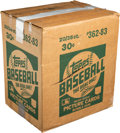 Baseball Cards:Unopened Packs/Display Boxes, 1983 Topps Baseball Unopened Case With Twenty 36-Count WaxBoxes!...