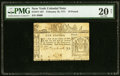 Colonial Notes:New York, New York February 16, 1771 £10 PMG Very Fine 20 Net.. ...