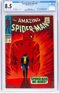 Silver Age (1956-1969):Superhero, The Amazing Spider-Man #50 (Marvel, 1967) CGC VF+ 8.5 Off-white towhite pages....