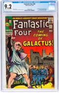 Silver Age (1956-1969):Superhero, Fantastic Four #48 (Marvel, 1966) CGC NM- 9.2 Off-white to whitepages....