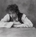 Photographs:Gelatin Silver, Mark Seliger (American, b. 1959). Bob Dylan, circa 1995. Gelatin silver, printed later. 10-5/8 x 10-5/8 inches (27.0 x 2...
