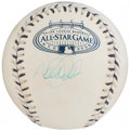 Autographs:Baseballs, 2008 Derek Jeter All-Star Game Single Signed Baseball....