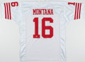 Autographs:Jerseys, Joe Montana Signed San Francisco 49ers Jersey....