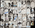 Autographs:Post Cards, 1968 Detroit Tigers Signed Postcard/Trading Card Lot of 32....