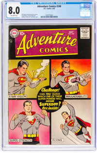 Adventure Comics #248 (DC, 1958) CGC VF 8.0 Off-white pages