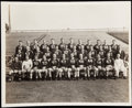 Football Collectibles:Photos, 1942-45 Green Bay Packers Vintage Team Photograph....