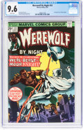 Bronze Age (1970-1979):Horror, Werewolf by Night #33 (Marvel, 1975) CGC NM+ 9.6 White pages....