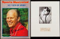 Autographs:Index Cards, President Richard Nixon & Ford Signed Cut Lot of 2. ...