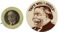 """Political:Pinback Buttons (1896-present), William Howard Taft: Two """"Better"""" Buttons.... (Total: 2 Items)"""