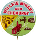 """Political:Pinback Buttons (1896-present), Wendell Willkie: Classic """"Chemurgy"""" Pin...."""