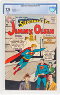 Silver Age (1956-1969):Superhero, Superman's Pal Jimmy Olsen #19 (DC, 1957) CBCS VF- 7.5 Off-white to white pages....