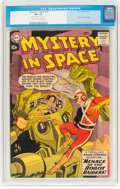 Silver Age (1956-1969):Superhero, Mystery in Space #53 (DC, 1959) CGC FN- 5.5 Cream to off-w...