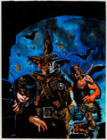 Original Comic Art:Covers, Daniel Brereton The Nocturnals #6 Original Art Cover (Malibu, 1995)....
