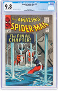 Silver Age (1956-1969):Superhero, The Amazing Spider-Man #33 (Marvel, 1966) CGC NM/MT 9.8 Off-white to white pages....